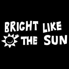 brightlikethesun 白文字デザイン