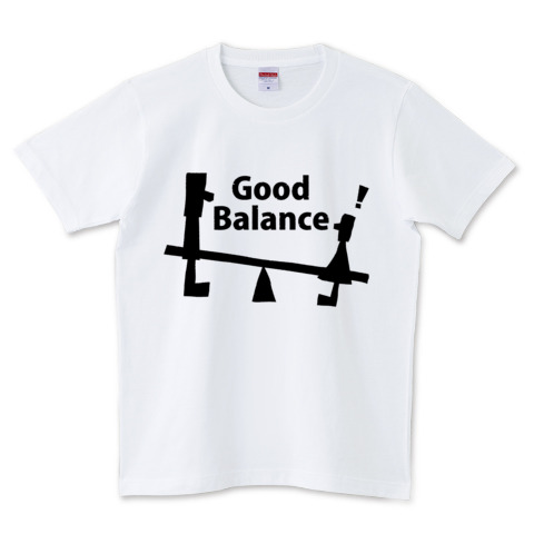 Good Balance黒文字ホワイト