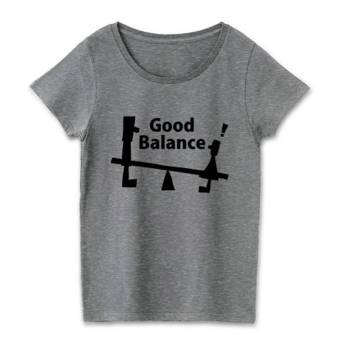 Good Balance黒文字メランジグレー