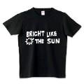 ロゴT BRIGHT LIKE THE SUN 白文字