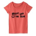 ロゴT BRIGHT LIKE THE SUN 黒文字2