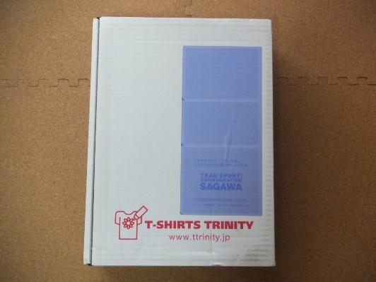 Tシャツ配送時の箱
