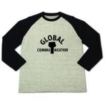 ロンTもあります♪ロゴT「GLOBAL COMMUNICATION」のご紹介♪