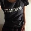 ロゴT「STANDARD」着画