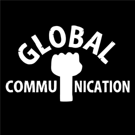 ロゴT「globalcommunication」