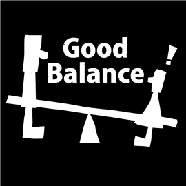 ロゴT「goodbalance」