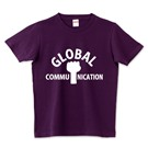 ロゴT「globalcommunication」半袖