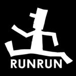 ロゴT「RUN」はらんらん楽しく走るRUN ♪
