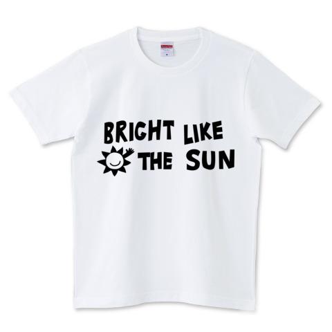 ロゴT brightlikethesun 白T