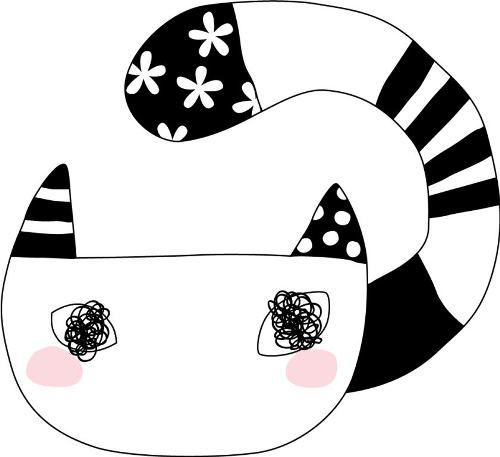 「おしゃれネコ」デザイン