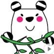 アニメーションスタンプ ボーダーパンダ